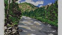 poudre river.